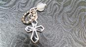 Misc. Costume Jewelry Silver Stainless 1.5g